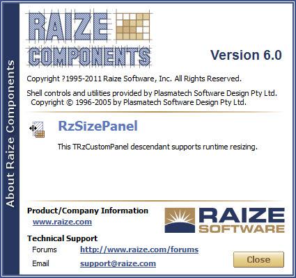 Raize Components 6.0 中的一点瑕疵