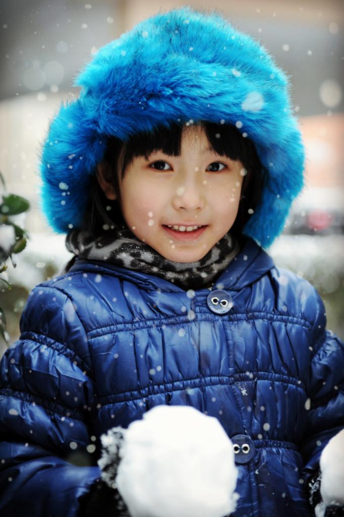 2014年的第一场雪!